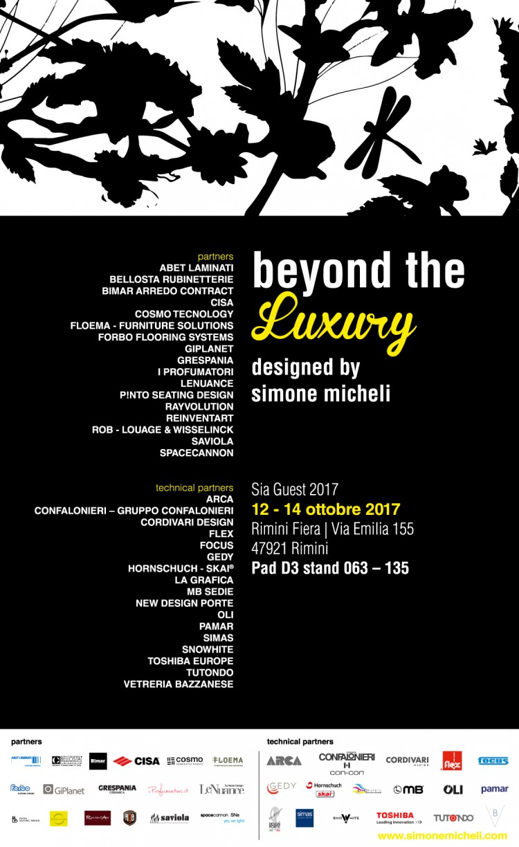 invito Beyond the Luxury sia guest 2017-01